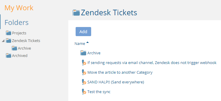 Project Insight for Zendesk Support: Engagement Guide – Project